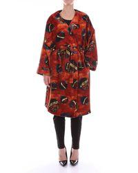 Stella Jean Trousse kimono - Rot