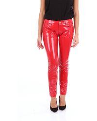Frankie Morello Pantalones chino - Rojo