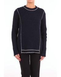 Sara Lanzi Trousse suéter - Azul