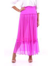 MSGM Faldas largas - Rosa