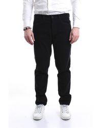 Pence Pantalones regular - Negro