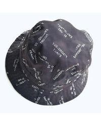 Carhartt WIP Cappello unisex bucket hat i020968.9 - Schwarz