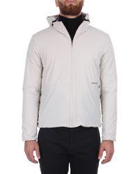 Esemplare Re-pet ultra-light nylon warmer black - Blanc