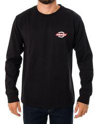 Dickies T-shirt ls ruston dk0a4x86blk - Nero