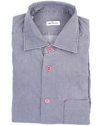 Kiton Camisas general - Gris