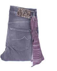 Jacob Cohen Jeans dünn - Lila