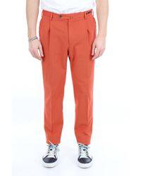 PT Torino Pt01 pantalon clasico con bolsillo america - Naranja