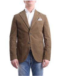 AT.P.CO Chaqueta estilo blazer caqui - Marrón