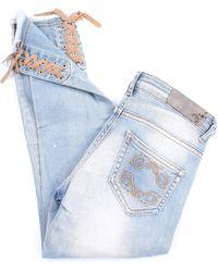 Patrizia Pepe Jeans schlank mädchen - Blau