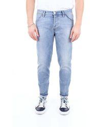 Pt05 Jeans Skinny - Blu