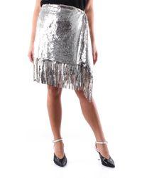Pinko Faldas minifaldas - Metálico