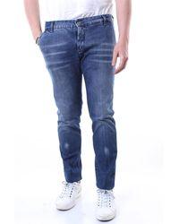 Entre Amis Jeans azul con bolsillos america