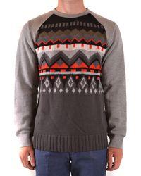 Paolo Pecora Sweatshirts mit kapuze - Grau