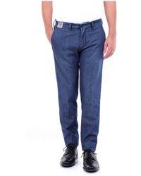 Re-hash Pantalon régulier - Bleu
