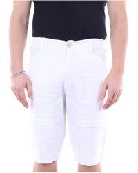 Transit Pantalones cortos bermudas - Blanco