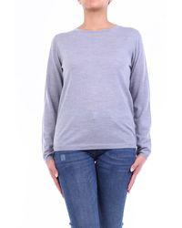Aspesi Suéter de cuello redondo - Gris