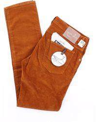 Jacob Cohen Hose modell 622 farbe - Orange