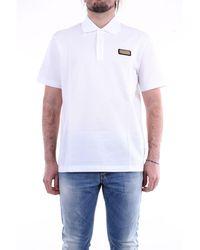 Versace Polo de manga corta en - Blanco