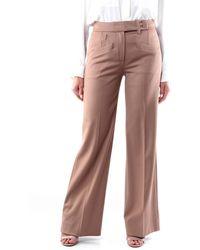 Dondup Pantalon classic couleur camel - Marron
