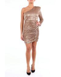 Lavish Alice Lujoso vestido corto de alice - Metálico