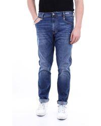 UNIFORM Pantalones vaqueros flaco - Azul
