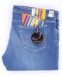 Jacob Cohen Jeans mince - Bleu