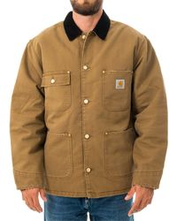 Carhartt WIP Capospalla og chore coat i027357.hz - Marrone