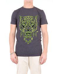 Philipp Plein Camiseta - Gris