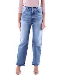 Haikure Jeans droit - Bleu