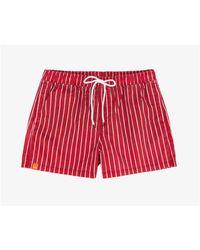 Sun 68 Costumi da bagno shorts mare rosso