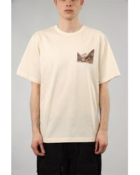 Juun.J T-shirt con stampa in cotone - Neutre