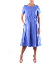 Aspesi Vestido de largo medio en color avion - Azul