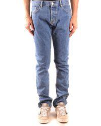 Burberry Stonewashed-Jeans mit gerader Passform - Blau