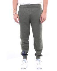 Diadora Pantalon de gym vert militaire - Gris