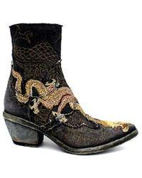 Fauzian Jeunesse Zapatos - Negro