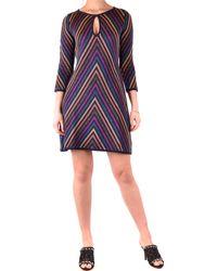 Twin Set Robes élégant - Violet