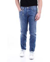 C+ Plus Jeans slim - Blu
