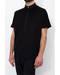 Low Brand Regular fit polo shirt 2 silverpink - Negro