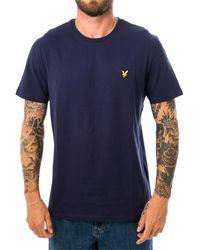 Lyle & Scott T-shirt plain ts400v.z99 - Blu