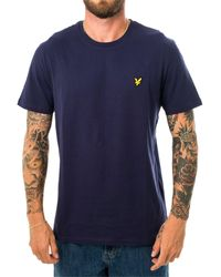 Lyle & Scott T-shirt plain ts400v.z99 - Blau