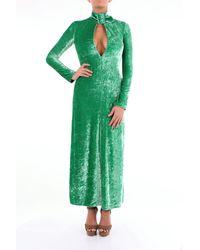 The Attico Ático abtio largo verde esmeralda