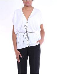 Peserico Cardigan di colore bianco