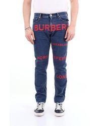 Burberry Jeans regulares oscuros - Azul