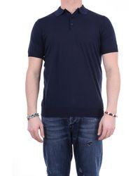 Jeordie's Polo maniche corte - Blu