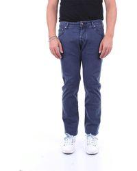 Jacob Cohen Pantalón hombre 622 - Azul