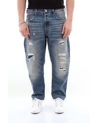 G-Star RAW Jean brut g-star type c droit 5 poches - Bleu