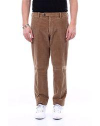 Michael Coal Pantalon brad en velours côtelé - Marron