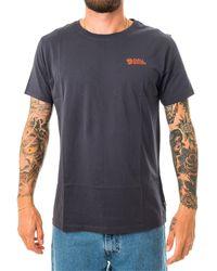 Fjallraven T-shirt tornetrask m f87314.560 - Blau