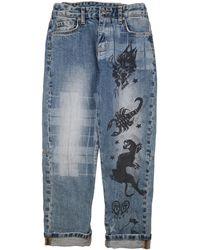 John Richmond Pantalon unisexe - Bleu