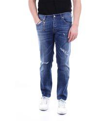 C+ Plus Jeans regular - Blu